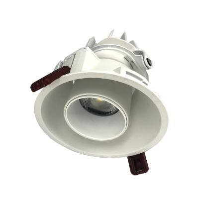 Downlight Spot LED COB Orientable Dimmable Rond BLANC 9W 120°
