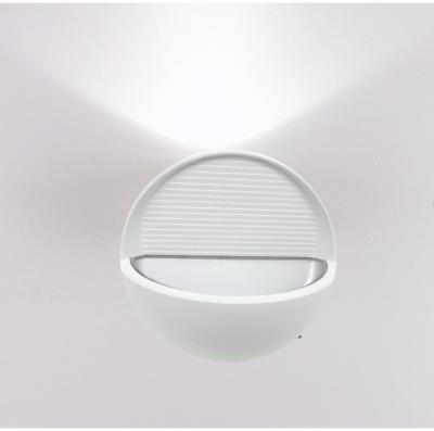 Applique Murale LED Ovale 7W IP44 BLANC