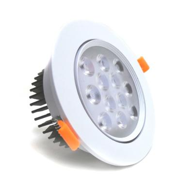 Spot LED Rond Encastrable Orientable 12W 80°