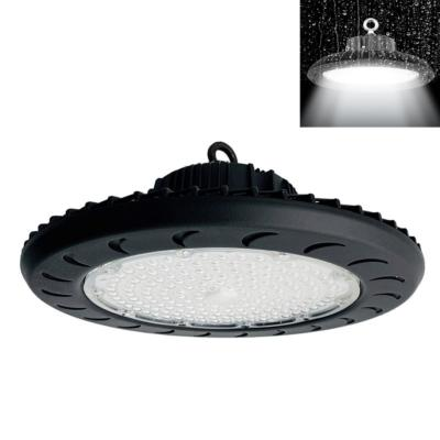 Suspension Industrielle HighBay UFO 100W IP65 NOIR
