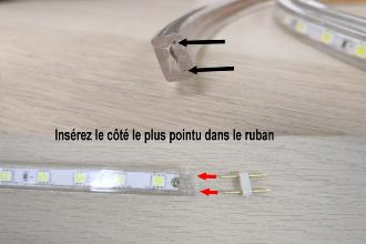 Comment Effectuer Le Branchement Dun Ruban Led 22ov
