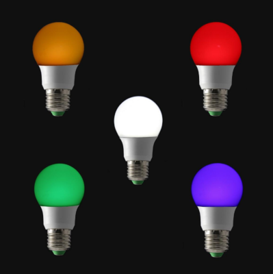 5 ampoules LED RGB