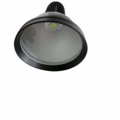 Cloche  Industrielle LED 50W 90° NOIR IP20