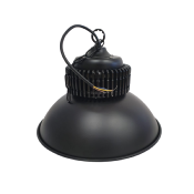 Cloche LED Industrielle 50W 120° NOIR