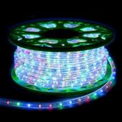 Guirlande LED Multicouleur 220V 50M IP44 Recoupable