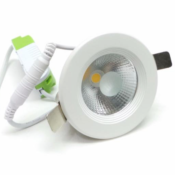 Spot Encastrable LED Rond COB  5W 80°