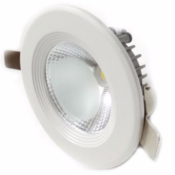 Spot LED Rond encastrable COB 7W 80°