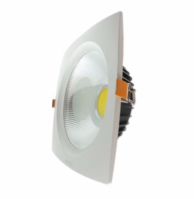Downlight Spot LED COB Carré Convexe 40W 235mm