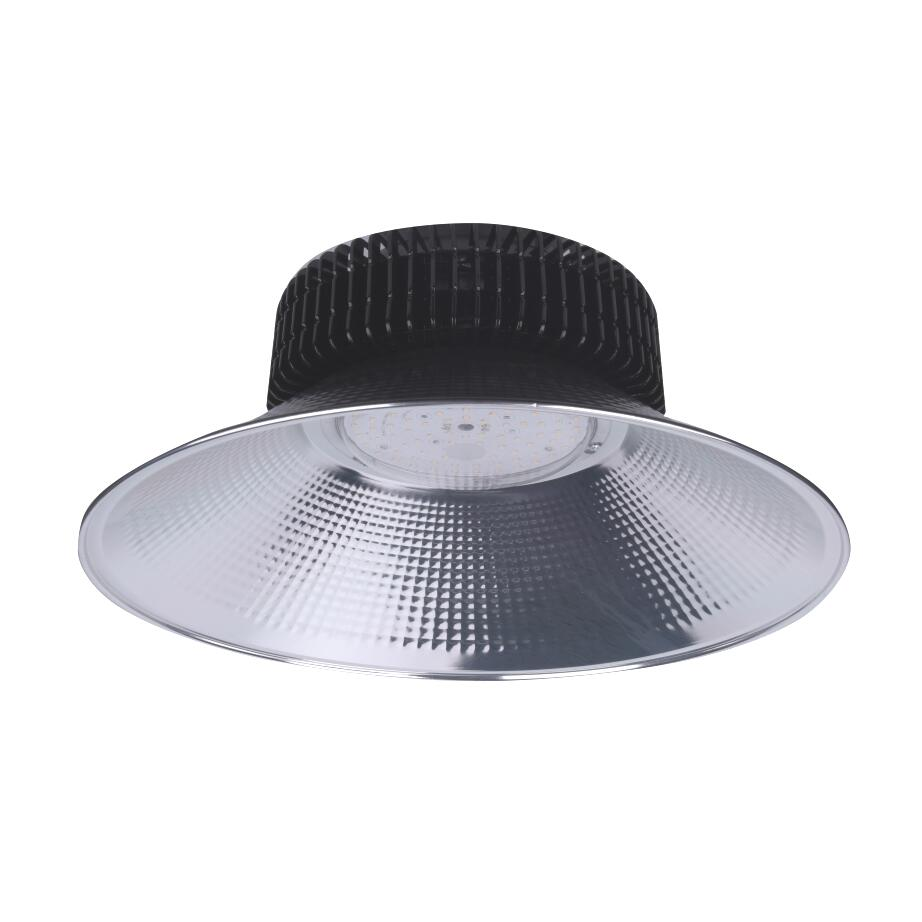 Cloche LED Industrielle 200W 120° NOIR IP65