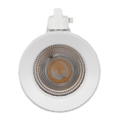 Spot LED sur Rail 25W 38° Monophasé BLANC (Pack de 10)