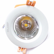 Spot Encastrable LED Rond COB 10W 80°