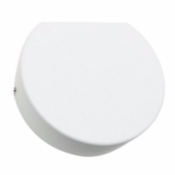 Applique Murale Blanche Demi Lune LED IP44 3W