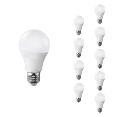 Ampoule LED E27 9W 220V A60 180° (Pack de 10)