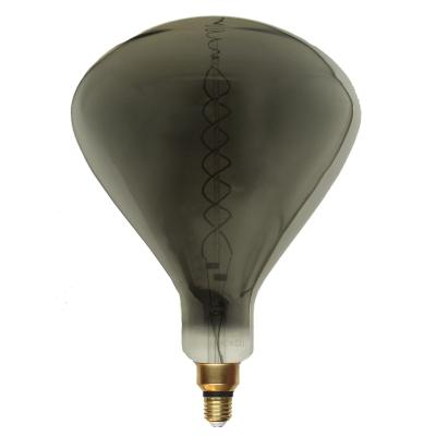Ampoule LED E27 Filament Dimmable 8W R250 SMOKE