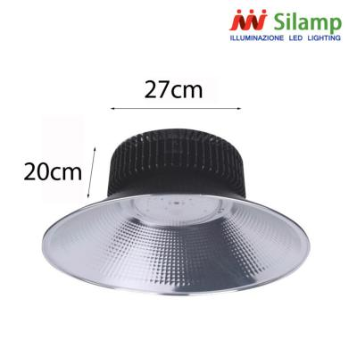 Cloche LED Industrielle 200W 120° NOIR IP44