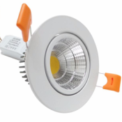 Spot Orientable LED Encastrable 5W Rond 80°