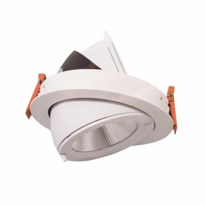 Downlight Spot LED COB 40W 160° Rond Orientable