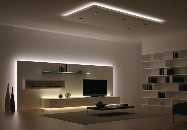 comment optimiser sa d coration avec un ruban led int rieur. Black Bedroom Furniture Sets. Home Design Ideas