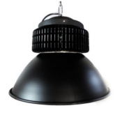 Cloche LED Industrielle 200W 120° NOIR