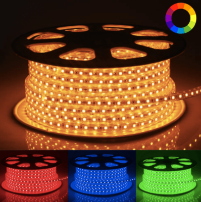ruban LED 220V multicolore