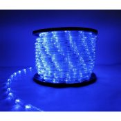 Guirlande LED 220V 50M IP44 Recoupable - Bleu
