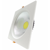 Spot LED Encastrable Carré Downlight 30W 195mm