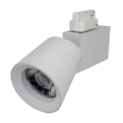 Spot LED sur rail 32W 38° Triphasé BLANC