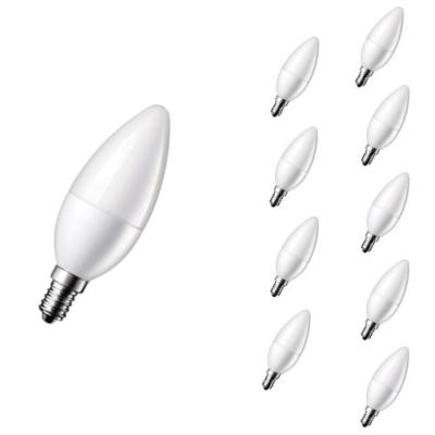 Ampoule LED E14 4W 220V C37 180° (Pack de 10)