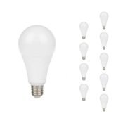 Ampoule LED E27 5W A55 220V 230° (Pack de 10)