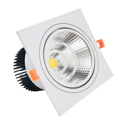 Spot LED Orientable Encastrable Carré 18W