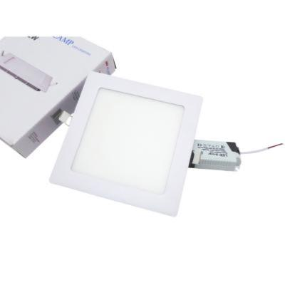 Spot LED Extra Plat Downlight Carré 12W Blanc