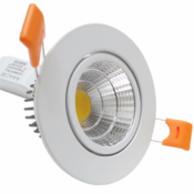 Spot Encastrable LED COB Rond Orientable  3W 80°
