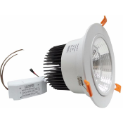 Downlight Spot Encastrable LED Rond Orientable 18W 80°