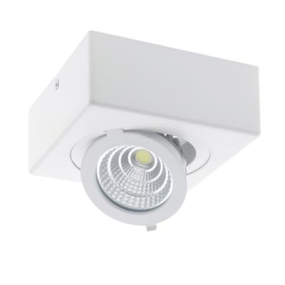 Spot LED en saillie 12W COB Ø120mm orientable