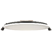 Downlight Dalle LED Plate Ronde Blanc 22W 120°