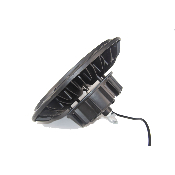 Cloche LED Industrielle UFO 200W 120° IP44 NOIR