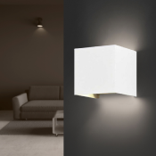 Applique Murale Blanche LED 6W IP54 Carré