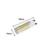 Ampoule LED G9 6W Dimmable 220V 360°